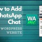 WhatsApp chat for WordPress