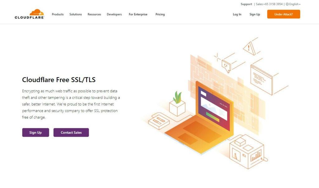 Cloudflare SSL - Free SSL