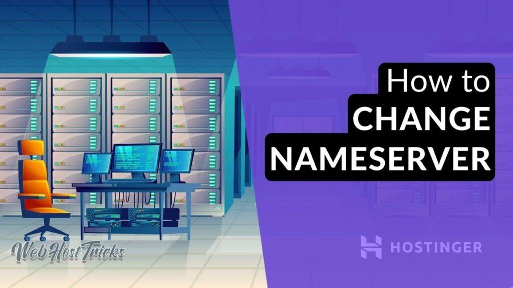 How to Change Nameserver