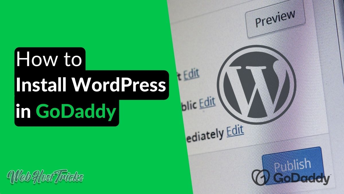 Install WordPress on GoDaddy
