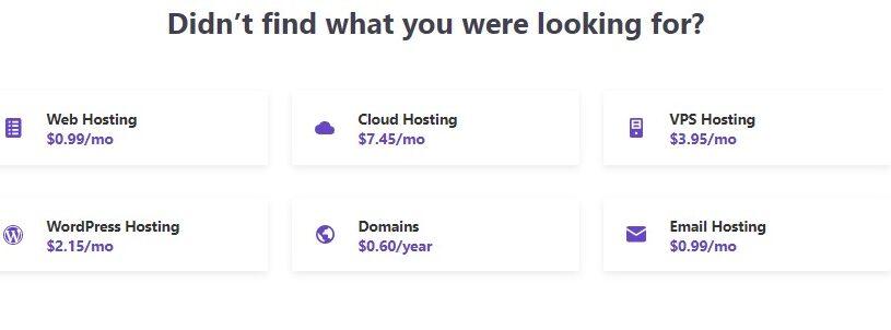 Hostinger Pricing Overview